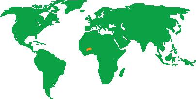 Burkina Faso nel Mondo
